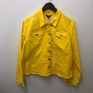 NWT!☀️Yellow Jean Jacket
